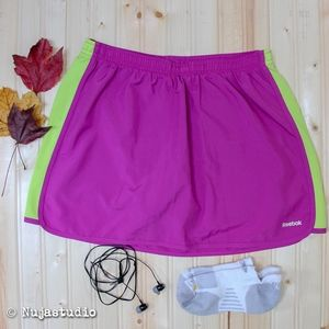 Reebok Skirt Sports with Athletic Shorts